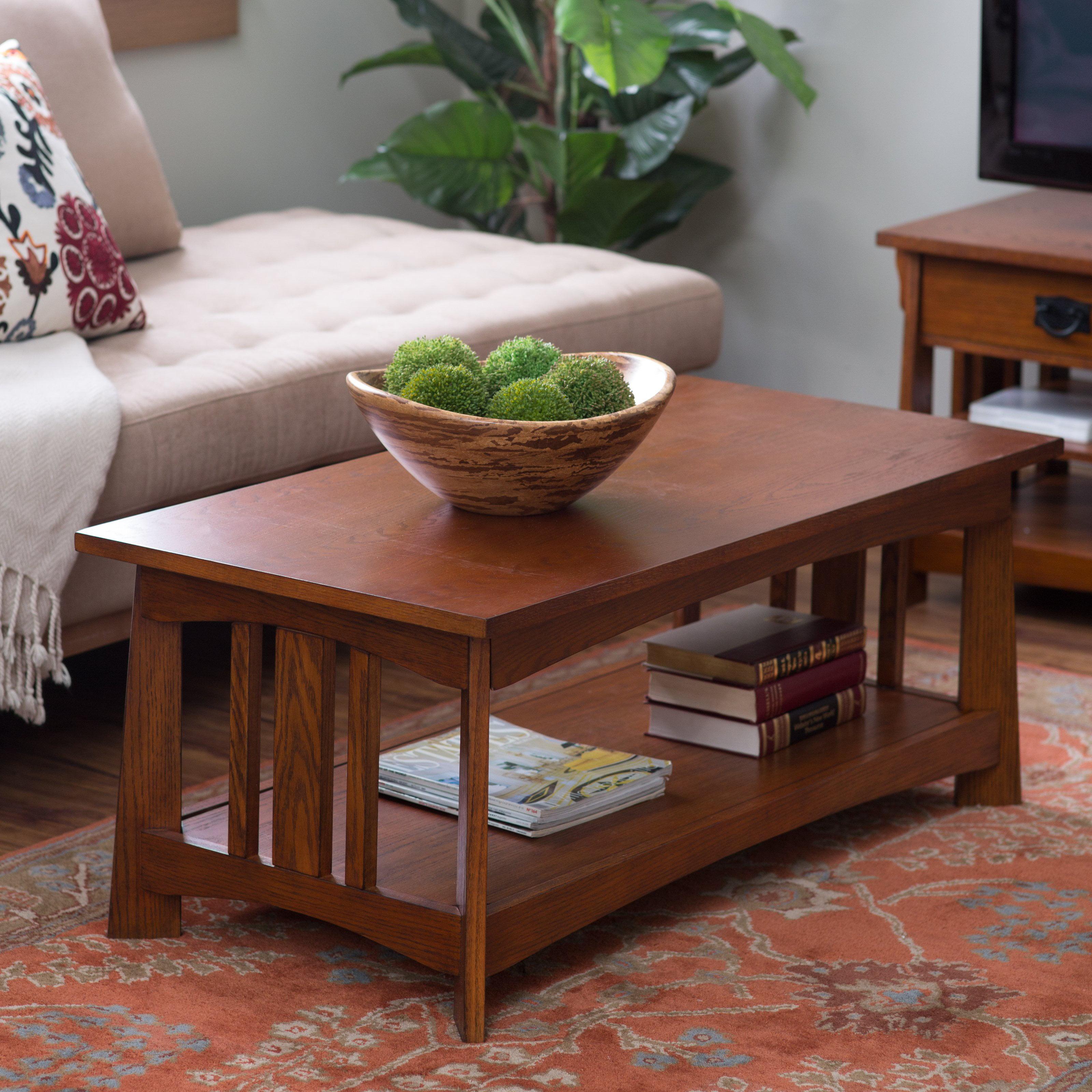 Belham living everett mission coffee table walmart geotapseo Images