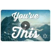 Reach for the Mountains Walmart eGift Card