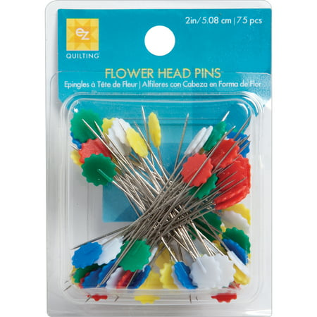 EZ Quilting Flower Head Pins-Size 32 -