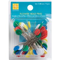 EZ Quilting Flower Head Pins-Size 32 75/Pkg