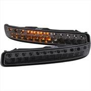 ANZO 511073 LED Parking Lights, Smoke Amber