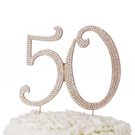 50 cake topper 50th birthday or anniversary party ...