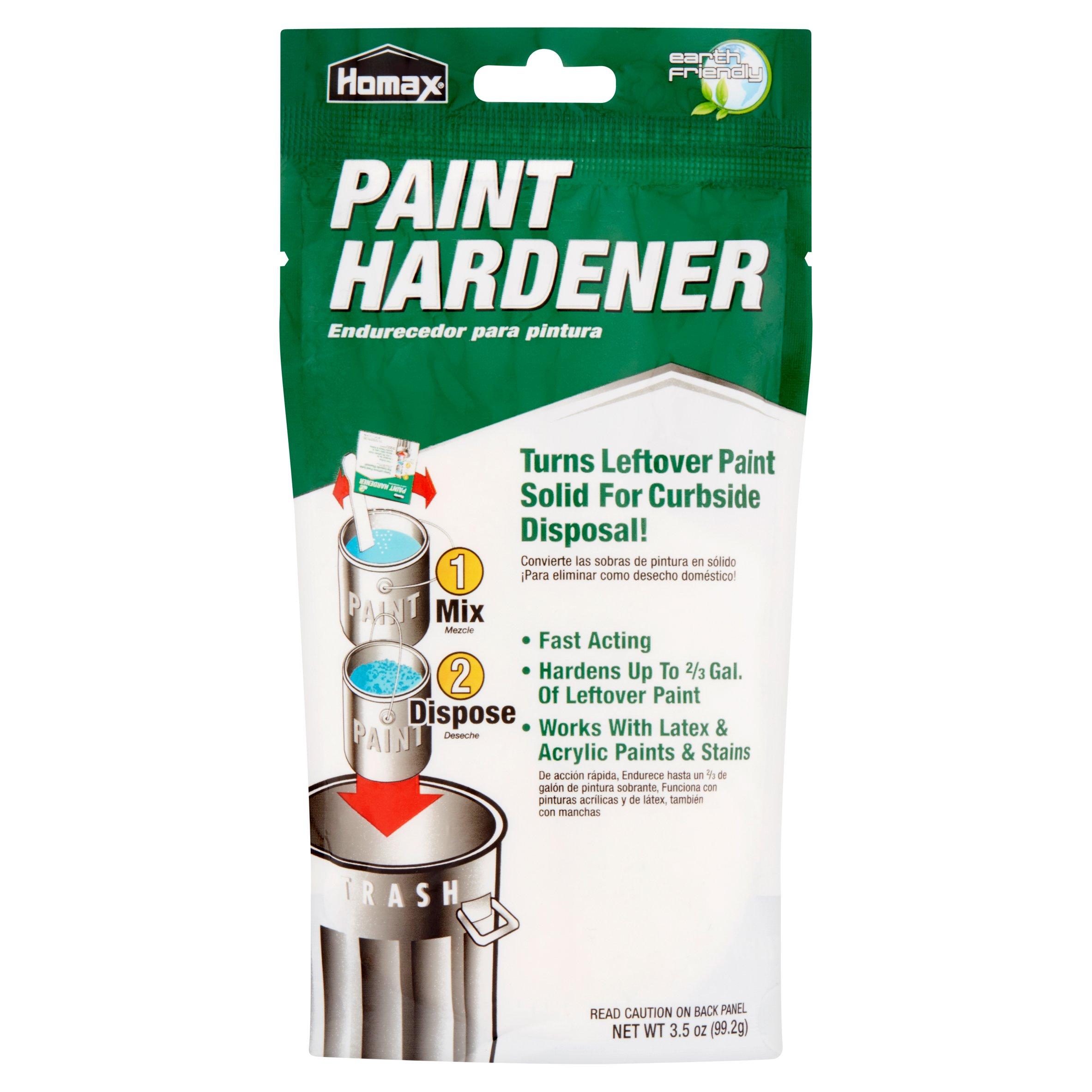 Homax Paint Hardener, 3.5 oz