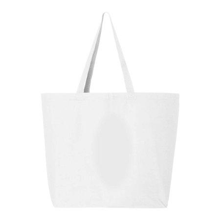 Q-Tees - Q600 245L Jumbo Canvas Shopper Bag By Q-Tees - Walmart.com 1a3ec4cf00445