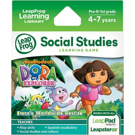 LeapFrog Explorer & LeapPad Learning Game: Dora the (Best Leappad 2 Games For 7 Year Old)