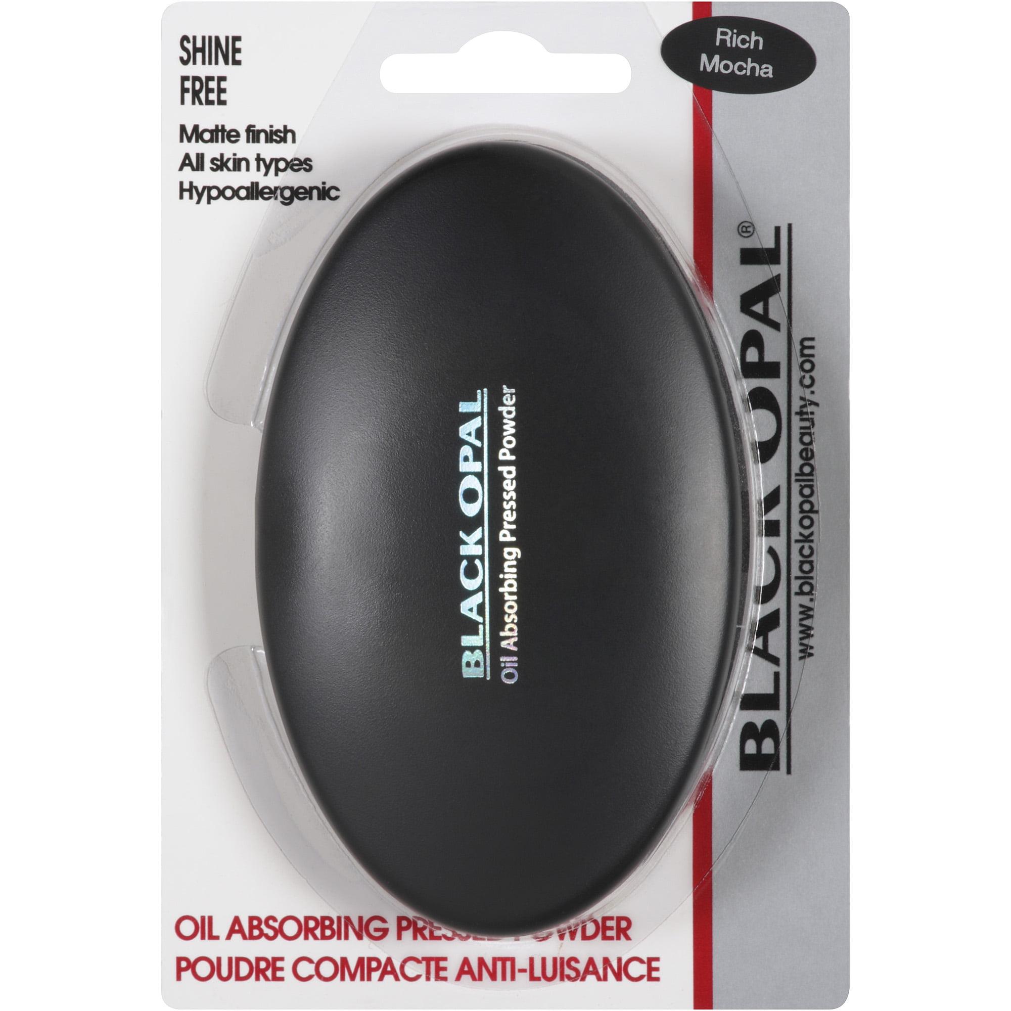 Black Opal Oil Absorbing Pressed Powder, Rich Mocha, 0.33 oz