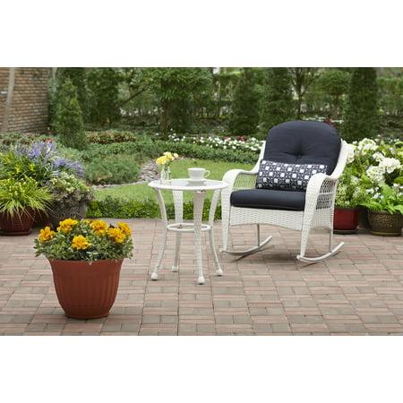 Better Homes And Gardens Azalea Ridge Outdoor Side Table White