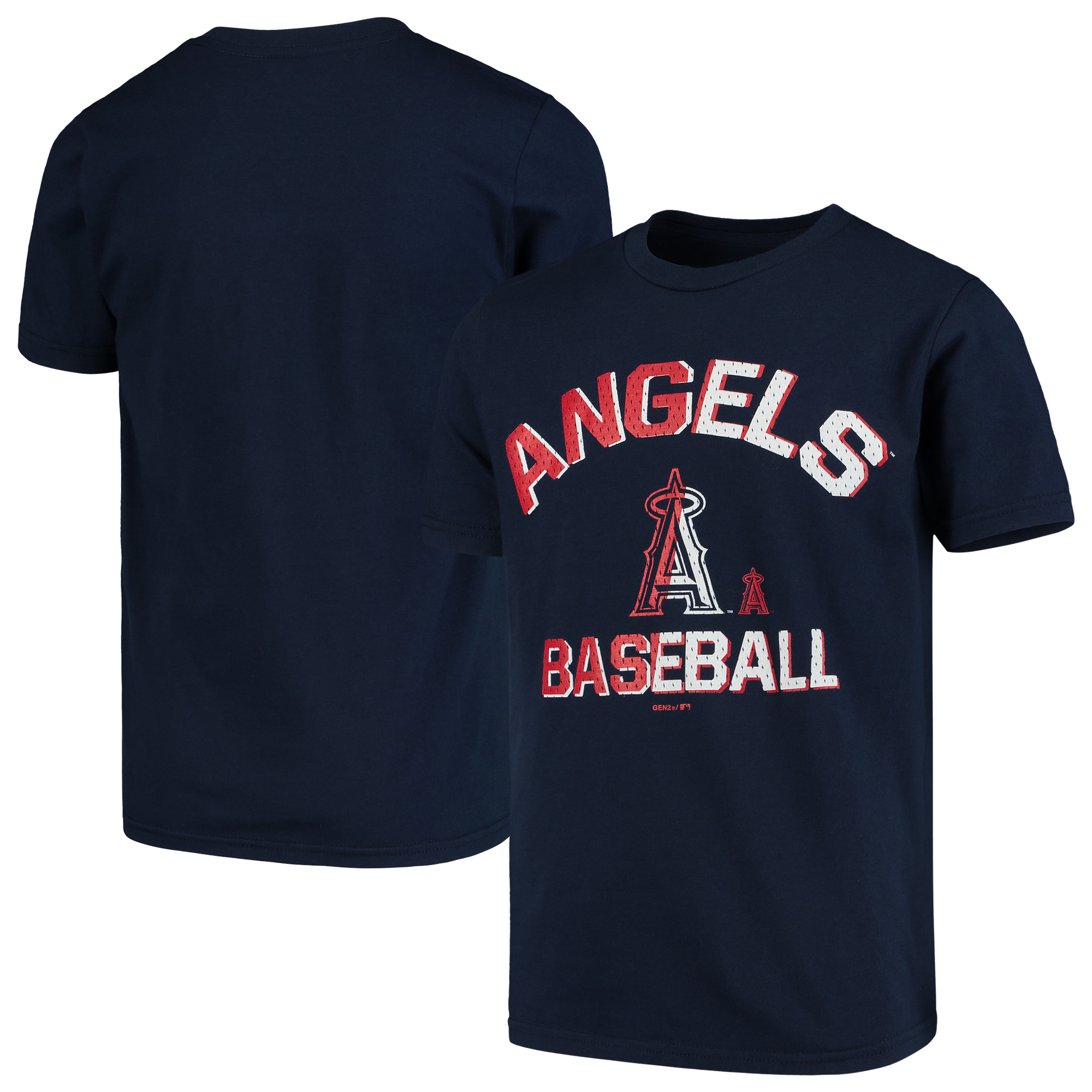 Los Angeles Angels Youth Team Trainer T-Shirt - Navy