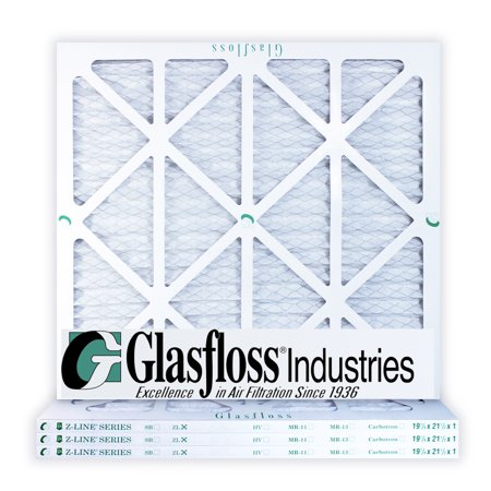 - Glasfloss 19-7/8 x 21-1/2 x 1 MERV 10 Air Filters, Pleated, Made in USA (Case of 4) Fits Listed Models of Carrier, Bryant & Payne, Removes Dust, Pollen & Many Other Allergens