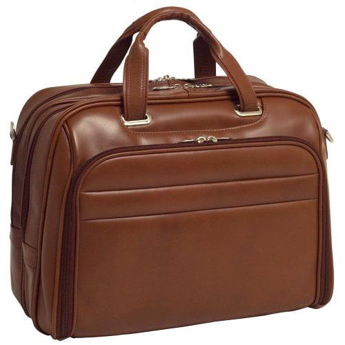 Mcklein 86594 Springfield 86594 [brown] Case Checkpt-friendly17in Laptop Case by McKleinUSA