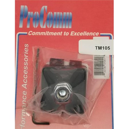 procomm tm105 trunk lip mount for 0.37 x 24 in.