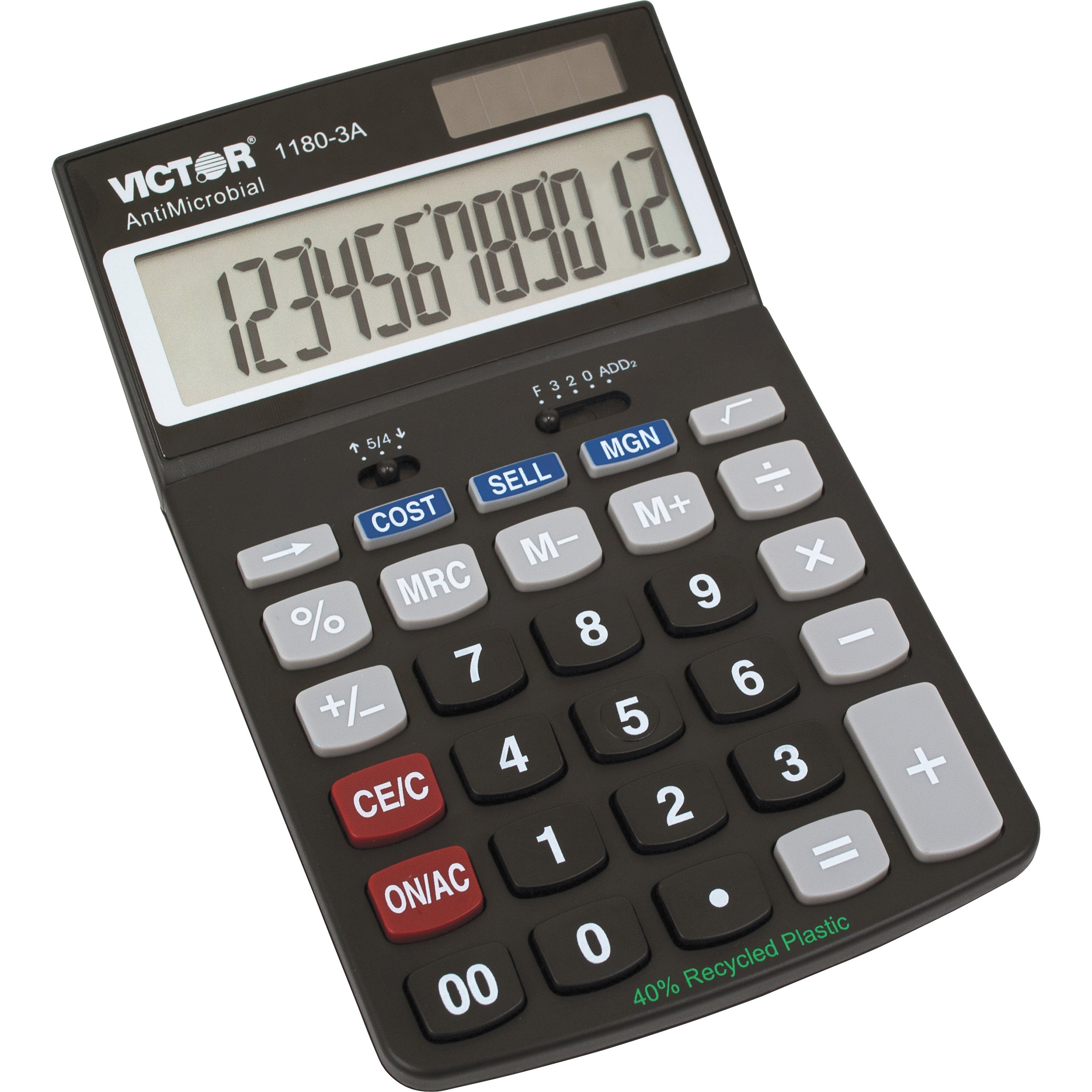 Victor, VCT11803A, 11803A Business Calculator, 1 Each, Black