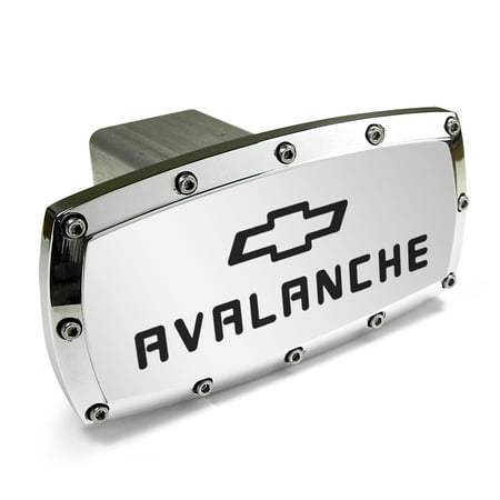 Chevrolet Avalanche Engraved Billet Aluminum Tow Hitch Cover