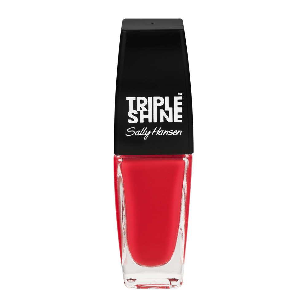 Sally Hansen Triple Shine Nail Color 230 Red Snapper, 0.33 FL OZ