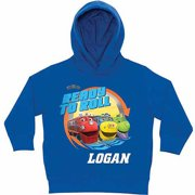 Personalized Chuggington Ready to Roll Little Boys' Royal Blue Hoodie