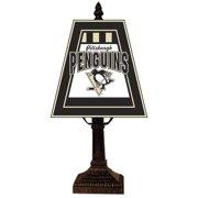 Pittsburgh Penguins Small Art Glass Lamp
