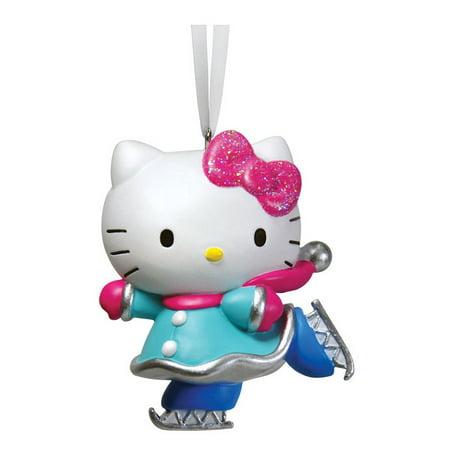 Hello Kitty Ornaments (Hallmark 2HCM1021 Hello Kitty Christmas Ornament,)