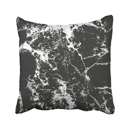 - ARTJIA Distressed Overlay Of Cracked Concrete Stone Asphalt Grunge Abstract Halftone Pillowcase Pillow Cushion Cover 16x16 inches