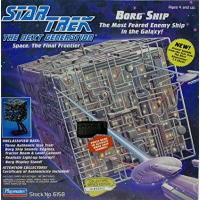 Star Trek the Next Generation Borg Cube Ship by