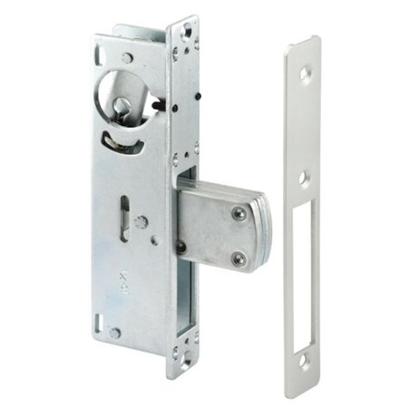 Primeline Products 1-1/8 in. Entry Door Deadbolt Lock in Aluminum (case with