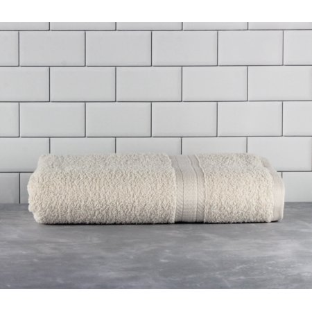 Mainstays Basic Bath Collection - Single Bath Towel, Solid Vanilla