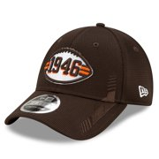 Cleveland Browns New Era Toddler 2021 NFL Sideline Home Historic 9FORTY Snapback Adjustable Hat - Brown - OSFA