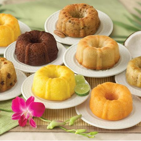 Alder Creek Gift Baskets 4-ounce Mini Bundt Cakes (8-Pack Sampler) - Halloween Gift Baskets For Kids