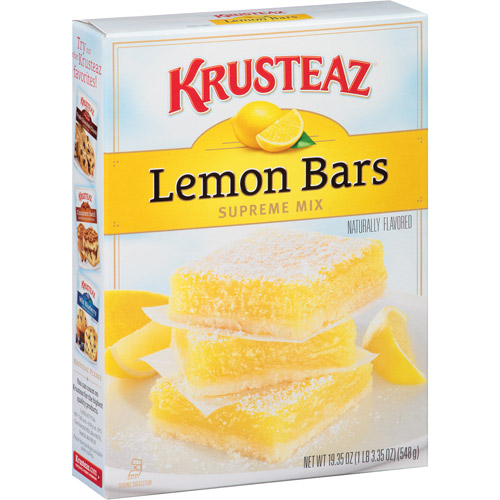 Krusteaz Lemon Bars Supreme Mix, 19.35 oz