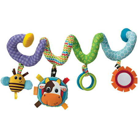 Flutter Activity Toy - Infantino Topsy Turvy Spiral Activity Toy