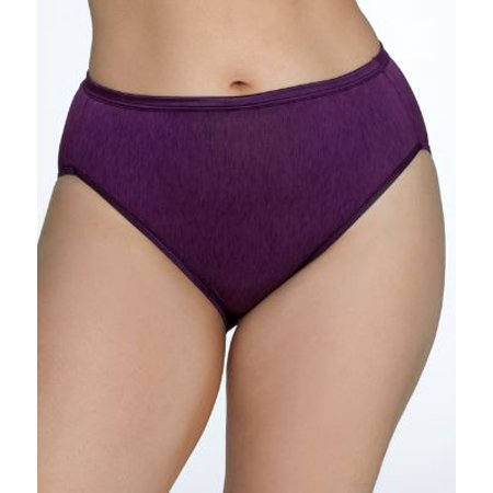 Vanity Fair Plus Size Illumination Hi-Cut Brief (Vanity Fair Classic Panties)