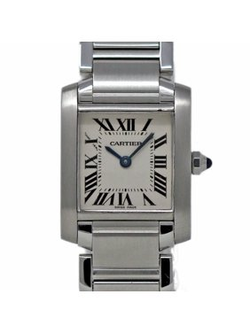 676ecd8c851e Product Image Pre-Owned Cartier Tank Francaise W51008Q3 Steel Women Watch  (Certified Authentic   Warranty)