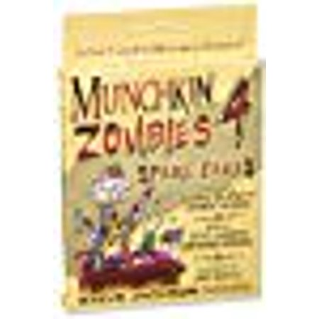 Munchkin Zombies 4 Spare Parts Game](Zombie Party Games)