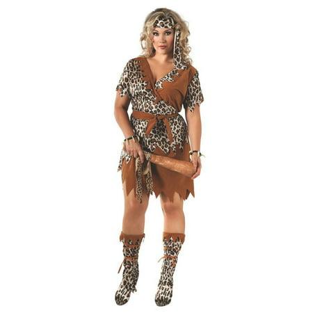 Halloween Cavewoman (Halloween Adult Cavewoman)