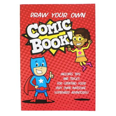 Draw Your Own Comic Book! (Nerd Block Jr. - Drag Block