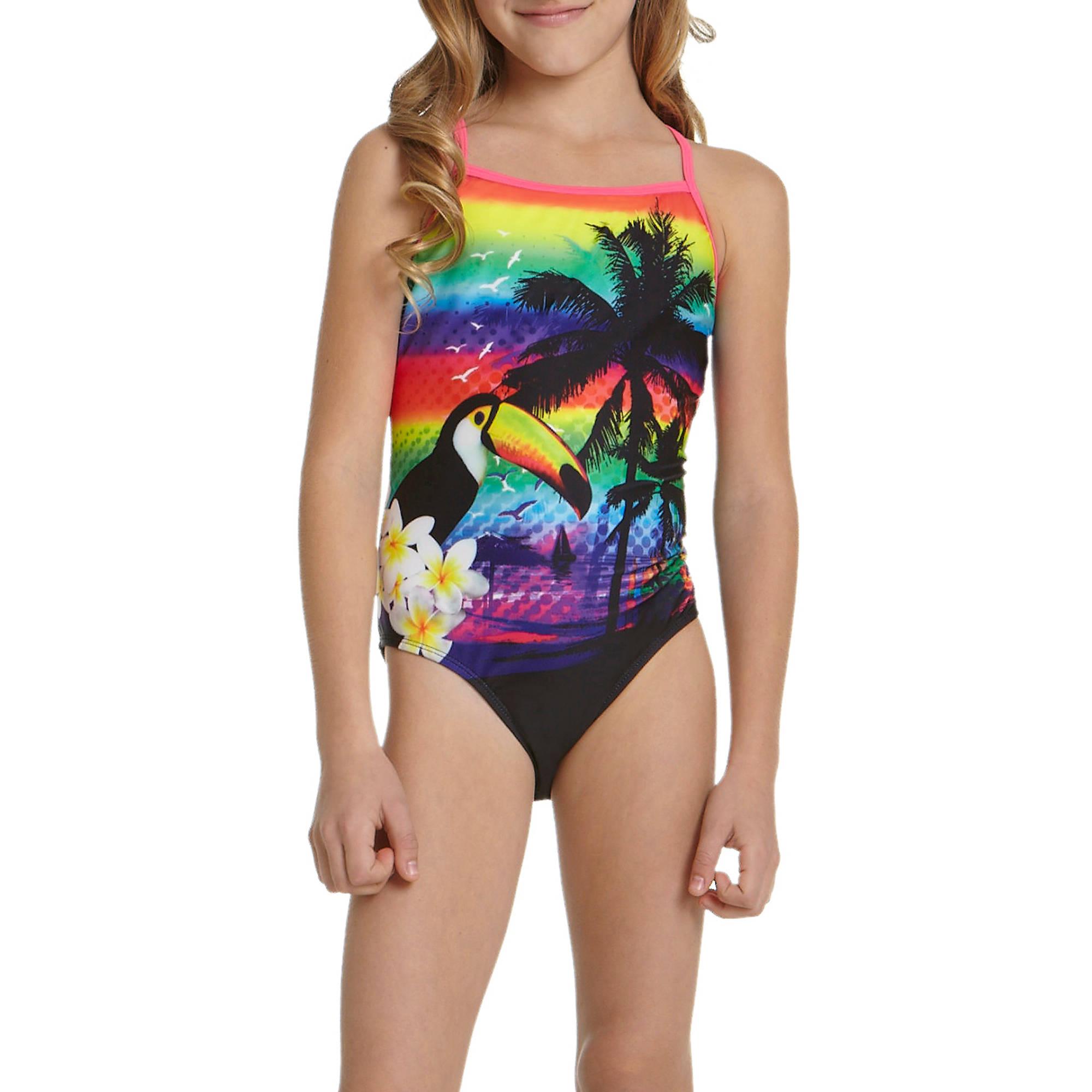 OP Girls' Island One Piece Swimsuit