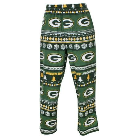 Green Bay Packers Nfl   Ugly Fleece   Mens Micro Fleece Pajama Pants