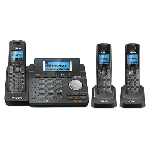 VTech DS6151 Expandable Cordless Phone w  DS6101-6 Handsets by VTech