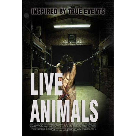 Live Animals POSTER Movie (27x40)