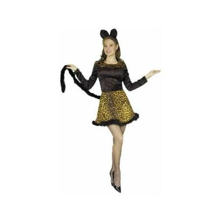 Adult Leopard Cat Dress Costume - Leopard Dress Costume