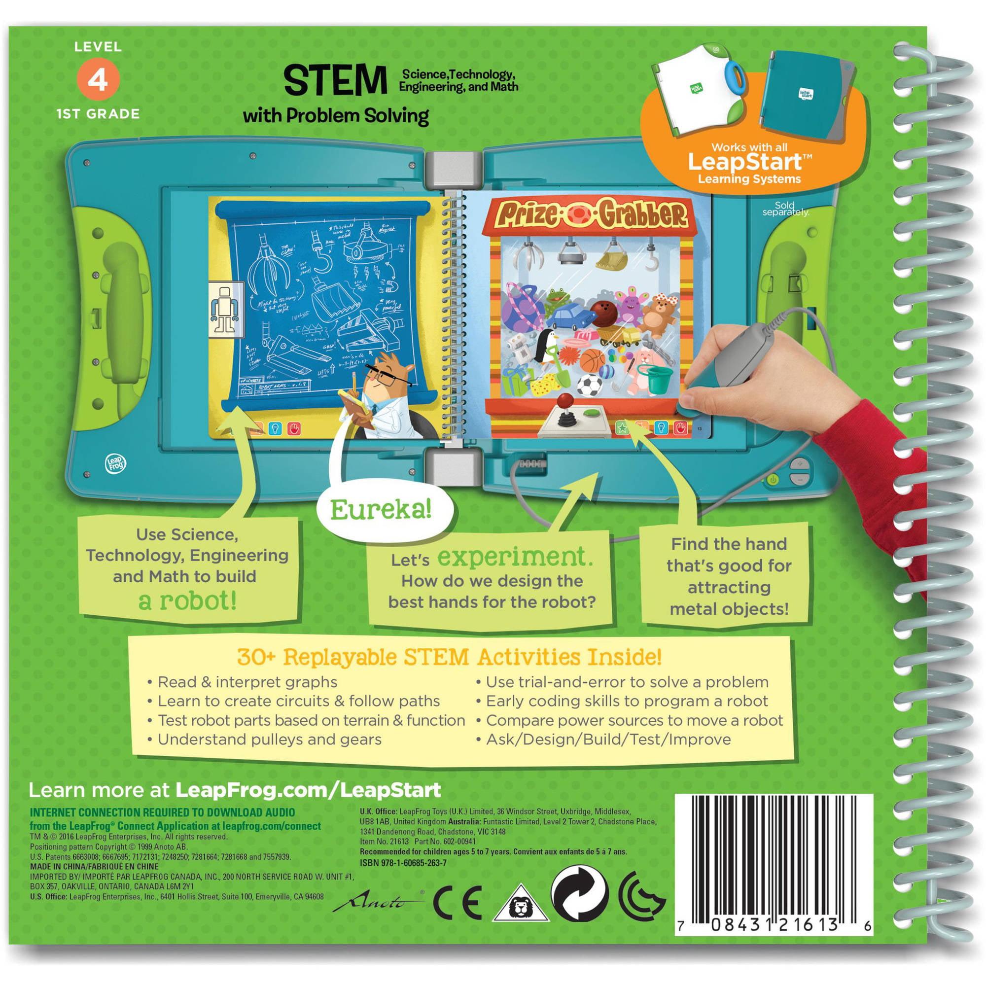 Leapfrog Leapstart 1st Grade Activity Book Stem Science