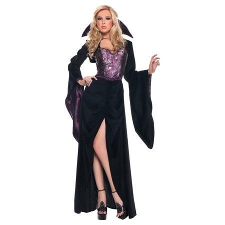 Mistress of the Night Adult Costume -
