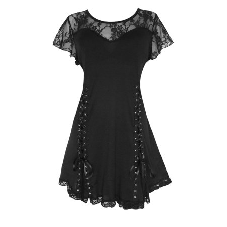 Dare To Wear Victorian Gothic Boho Women's Roxanne Corset Top S - 5x