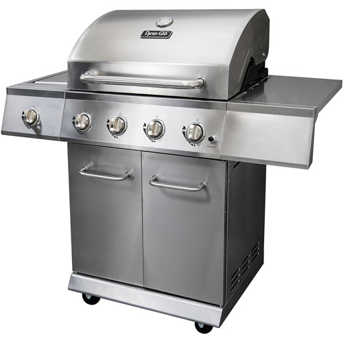 Dyna-Glo DGE486SSP-D 4-Burner Stainless LP Gas Grill