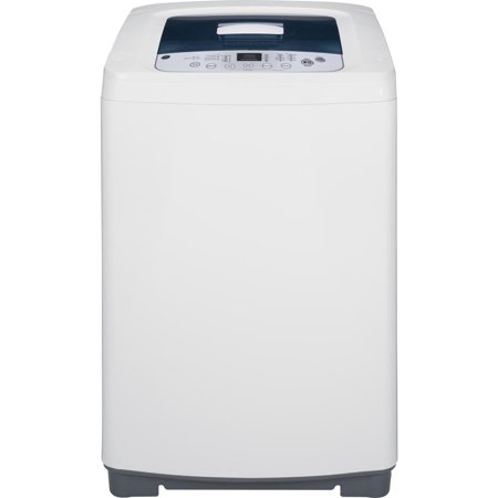 WSLP1500HWW 23 Portable Top-Load Washing Machine with 2.6 cu. ft. Capacity 8 Wash Cycles 680 RPM Stainless Steel Basket One-Touch Load Sensing and ExtraRinse Option in White