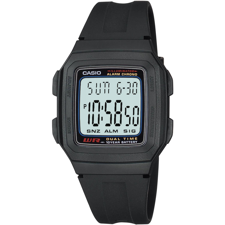 Casio Men's Digital Sport Watch, Black Resin Strap