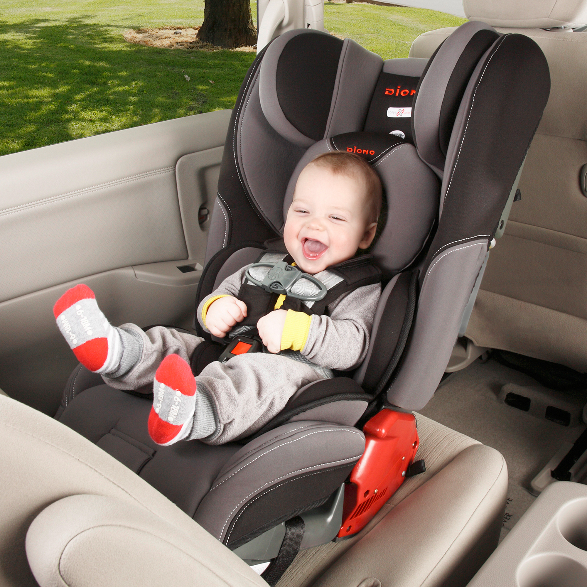 Diono Rainier Convertible Car Seat plus Booster with Adjustable Head