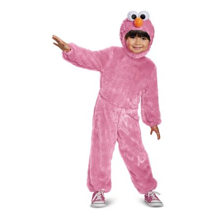 Pink Elmo Comfy Fur Toddler - Elmo Toddler Costume