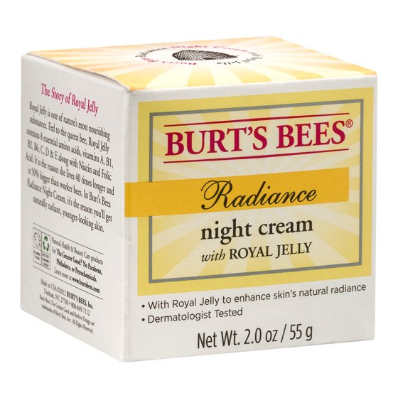 Burt's Bees Radiance Night Cream, 2 oz - Walmart com