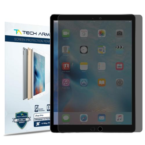 """Tech Armor 4-Way Privacy Screen Protector [1-Pack] for Apple iPad Pro (12.9"""")"""