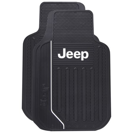 Rear Floor Mats Liners Jeep (Jeep Elite Universal Floor Mats )